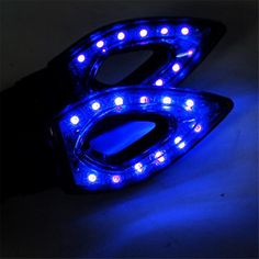 Street Fighter Sport Custom Fairing Light universale. 1 PC di DC 12V Dirt Bike Motorcycle LED Headlight LED Headlight