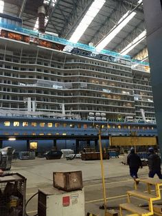 Anthem of the Seas Construction - Page 17 - Cruise Critic Message Board Forums Biggest Cruise Ship, Best Cruise Ships, Anthem Of The Seas, Royal Caribbean International, Cruise Critic, Navy Ships, Message Board, Water Crafts, Under Construction