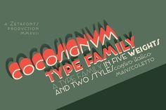 Cocosignum - Intro Offer -70%! by Zetafonts on @creativemarket