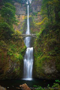 Multnomah Falls, Columbia River Gorge, Oregon