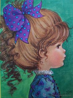 ...•:*¨.*:•....PRECIOSA POSTAL SERIE MARY MAY AÑOS 80 COLECCION PERLA AÑOS 80...•:*¨.*:•... (Postales - Niños)