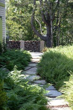 Garden Landscape Factories And Mines Gentle Renee Young 20th Century Pastel