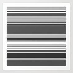 complex Stripes Grey Art Print by laec Buy Frames, Grey Stripes, Gallery Wall, Art Prints, Room, Home Decor, Art Impressions, Bedroom, Decoration Home