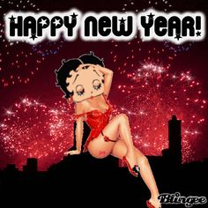 Happy New Year from Betty Boop