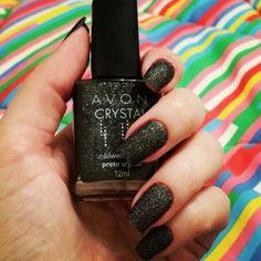 Unhas #nail #crystal