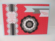 Geburtstagskarte für eine Mottoparty / Happy Birthday card