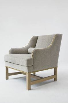 Chalet Club Chair by Jean-Louis Deniot for Collection Pierre