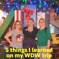 I just got back from a 9 day trip to Disney World where I learned lots of new things. I have 5 of those new things for you today.