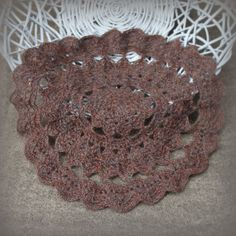 RTS vintage crochet mini blanket prop doily by FairytalePhotoProp