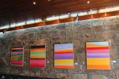 """Horizontes Visuais"" de FIDEL LATIESAS: Inauguração da exposição ""Horizontes Visuais"" de F..."