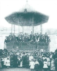 Coreto da SFUA, Arrentela, demolido Gazebo, 19th Century