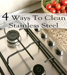 Stainless steel appliances look so nice when they're clean, but look horrible when they're covered in smudges and grease. Here are some ways to get them clean, and keep them clean. 1. Bar Keepers friend. This is a cleaner that looks like it might be comet, but it doesn't have …