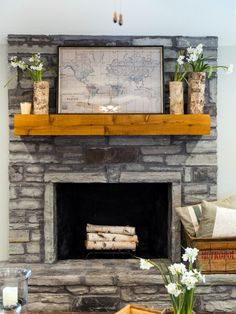 10 Attractive ideas: Living Room Remodel With Fireplace Spaces living room remodel with fireplace cabinets.Living Room Remodel Ideas Joanna Gaines livingroom remodel before and after.Living Room Remodel Before And After Inspiration. Farmhouse Fireplace Mantels, Rustic Fireplaces, Home Fireplace, Gas Fireplaces, Wood Mantle, Fireplace Remodel, Fake Mantle, Fireplace Filler, Rustic Mantle