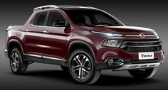 Fiat Toro pick-up truck – official image of rear released