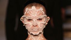 Bejeweled Runway Masks : Givenchy's Spring