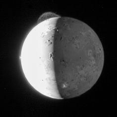 Le volcan Tvashtar sur Io, photographié par New Horizons.