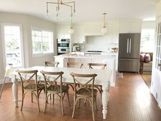 Before & After: Casandra's Light, Airy and Open Kitchen — The Big Reveal Room Makeover Contest 2015