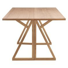 HEATH 2-4 seat oak folding dining table Designed in-house and exclusive to Habitat. Requires home-assembly. Size W90 x H75 x L120cm. Extended dimensions: W45 x L120cm. Sits 2-6 people. Product weight: 32kg. Packaged dimensions - Box 1: W128 x H18 x D58cm. Construction Solid oak and oak veneer. http://www.habitat.co.uk/heath-2-4-seat-oak-folding-dining-table-336255 was £295.00 £195.00