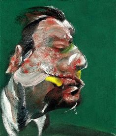 Francis Bacon - Study for Head of George Dyer (1967)