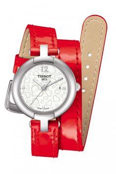Tissot Pinky by Tissot Valentine's Day 2015 T084.210.16.117.00 #Tissot #TissotWatches #Pinky #ValentineDay