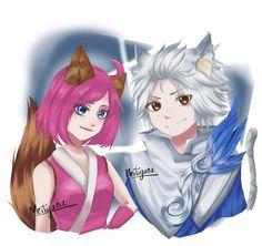 Let's restart XD Nana Harith! Boboiboy Anime, Kawaii Anime, Mobile Legend Wallpaper, Mobile Legends, All Art, Bang Bang, Character Design, Geek Stuff, Couples