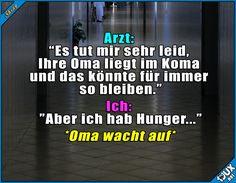 Omis lassen ihre Enkelkinder nicht hungern! :)  Lustige Memes und Sprüche #Humor #Sprüche #lustigeBilder #lustigeSprüche #Jodel #Oma #Enkel #hunger #Memes