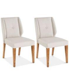 Portland Set of 2 Dining Chairs, Direct Ship | macys.com