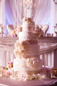 Bolos de casamento - Bolo Florido