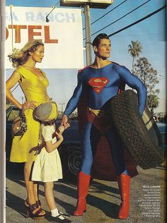 """Vogue """"Superwoman"""" photo shoot January '09 by trexfiles23, via Flickr"""
