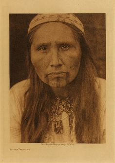 Tolowa (some are now part of the Siletz tribe) photo by Edward Curtis (Native American, Indian, Oregon)