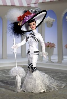 Barbie® Doll as Eliza Doolittle from My Fair Lady™ at Ascot | Barbie Collector