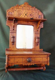 Image result for antique eastlake wall cabinets
