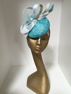 Marc Millinery Fascinator Diy, Fascinators, Headpieces, Sinamay Hats, Millinery Hats, Royal Clothing, Crazy Hats, Diy Hat, Cocktail Hat