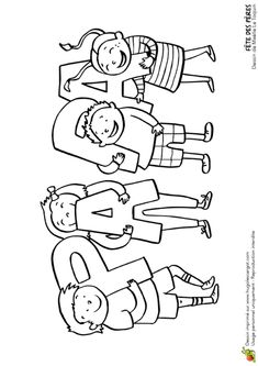 Father's Day coloring page, children's gifts – Hugo … – Gift Ideas Diy Crafts For Kids, Art For Kids, Fathers Day Coloring Page, Cadeau Parents, Father's Day Activities, Fathers Day Crafts, Childrens Gifts, Mamas And Papas, Hand Art