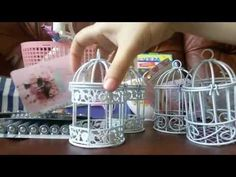 1 million+ Stunning Free Images to Use Anywhere Paper Basket Diy, Newspaper Basket, Newspaper Crafts, Diy Crafts For Girls, Diy Arts And Crafts, Diy For Kids, Recycled Paper Crafts, Bird Cage Centerpiece, Handmade Jewelry Box