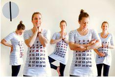 Pregnancy calendar shirt