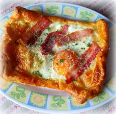 Quick and Easy Bacon and Egg Tartsfrom The English Kitchen