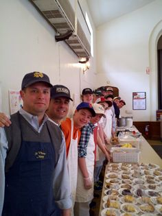 Delbarton Fathers & Friends served a meal at the Community Soup Kitchen over spring break 2013.
