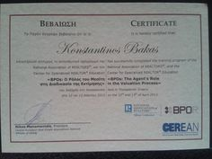Successfully completed the Training Program of the National Association of REALTORS®, and the Center for Specialized REALTOR® Education  <>.