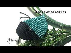 Macrame Earrings, Macrame Jewelry, Macrame Bracelets, Handmade Bracelets, Bracelets For Men, Macrame Bracelet Tutorial, Crochet Bracelet, Macrame Art, Macrame Knots