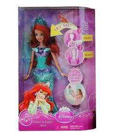 Love this Ariel Glitter & Lights Doll by Disney Princess on #zulily! #zulilyfinds