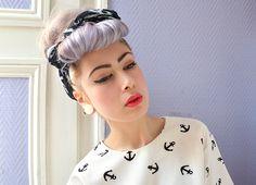 CannibaleCore le blog: Tutoriel : makeup et coiffure inspiration pin up