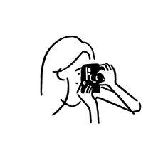 Line art people illustration Ideas Korean Illustration, Simple Illustration, Character Illustration, Digital Illustration, Minimalist Icons, Minimalist Drawing, Minimal Drawings, Easy Drawings, Doodle Icon