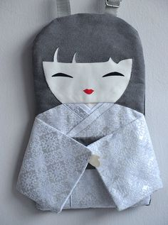 Elegant Handbag Doll Bag Japanese Handmade a by NinuMiluBagDolls,