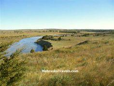 North Loup River  Nebraska Sandhills near Brewster, Ne