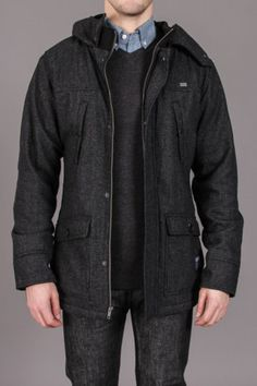 Ambiguous Clothing Leeds Jacket | love the texture