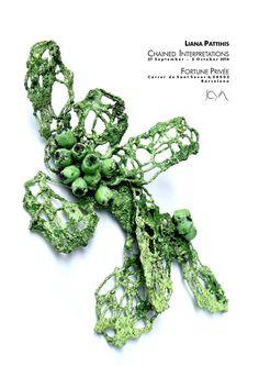 "xx - JOYA 2016 - ""CHAINED INTERPRETATIONS"" by Liana Pattihis. Fortune Privée Carrer de Sant Sever 6, Barcelona.  27 September — 2 October Wednesday to Sunday, 11.00h to 15.00h and 16.00h to 20.00h.  Opening: 27 September, 18.00h – avec Liana Pattihis Art Jewellery"