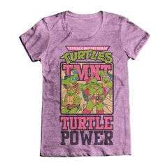 TMNT Turtle Power Shirt Women's
