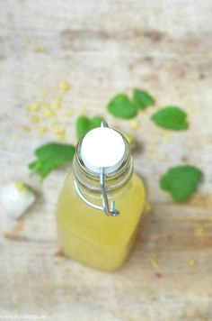 Selbstgemachte Zitronen-Limonade | foodistas.de