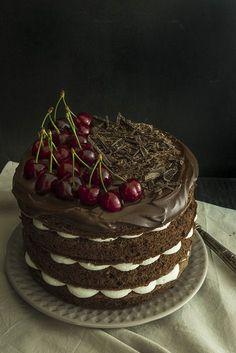 black forest cake - torta foresta nera